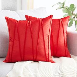 Top Finel Decorative Hand-Made Throw Pillow Covers Soft Part
