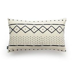 Hofdeco Premium Decorative Lumbar Pillow Cover HEAVY WEIGHT