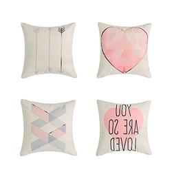 Heyhousenny Decorative Throw Pillow Covers Cushion Covers Sq
