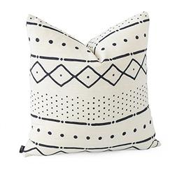 Hofdeco Premium Decorative Throw Pillow Case African MUD CLO