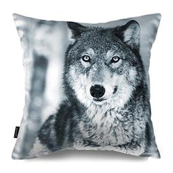 Phantoscope Animal Series Decorative Throw Pillow Case Cushi