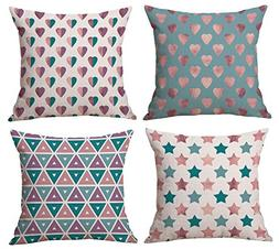 decorative throw pillow covers inches