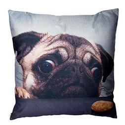 Decorative Throw Pillow Covers Pug Dog Couch Pillows Cover 1