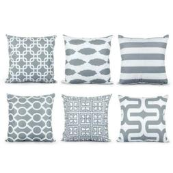 Top Finel Decorative Throw Pillow Covers Soft Microfiber Out