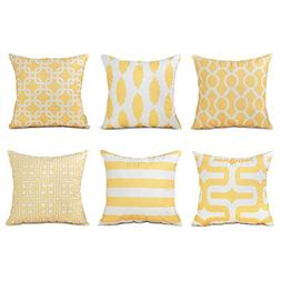 Top Finel Decorative Throw Pillows Cushion Covers Square Pil