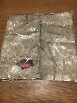 DIY Two Tone Glitter Sequins Throw Pillows Decorative Cover