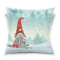ALAZA Double Sided Lovely Sprite Christmas Gnome Standing in
