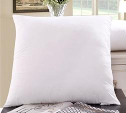 Best Emart 8 pack 18x18 Square Pillow Inserts Made in USA