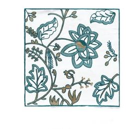 """SERENA & DOROTHY 18""""x18"""" Embroidered Colorful Ethnic LILY Ec"""