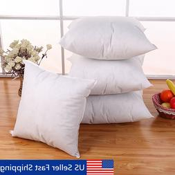 Euro Cotton Cushion Throw Pillow Sofa Waist Pillowcase Inser