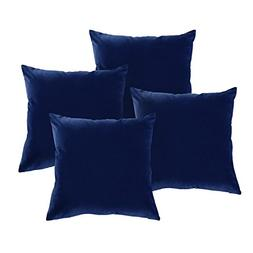 Deconovo Luxurious Velvet Pillowcases Hand Made Cushion Cove