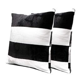NTBAY Flannel Decorative Throw Pillowcases Cushion Covers Se