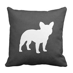 CaseWorkShop French Bulldog Silhouette Accent Decorative Hom