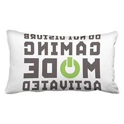 Musesh funny gamer pillow for video games geek gaming pro qu