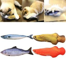 Funny Small Fish Shape Pet Cat Cushion Throw Pillows Home De