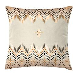 Ambesonne Geometric Decor Throw Pillow Cushion Cover by, Vin