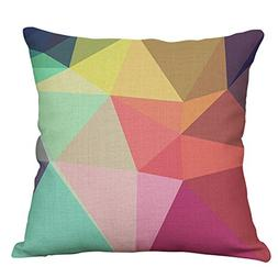 geometric decorative throw pillow covers