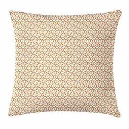 Ambesonne Geometric Throw Pillow Cushion Cover, Six Pointed