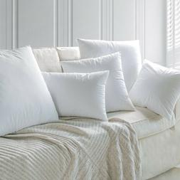 Goose Duck Down Feather Throw Pillow Inserts Sham Stuffer wi