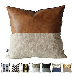 Kdays Halftan Pillow Cover Designer Modern Throw Pillow Cove