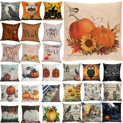 Halloween Christma Pillow Cover Decor Pillow Case Sofa Waist