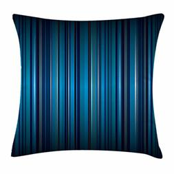 Ambesonne Harbour Stripe Throw Pillow Cushion Cover, Vibrant