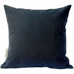TangDepot Heavy Lined Linen Cushion Cover, Throw Pillow Squa