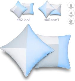 Hofdeco Outdoor Patio Decorative Throw Pillow Cover ONLY Wea