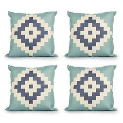 Top Finel Square Decorative Throw Pillow Covers Durable Cott