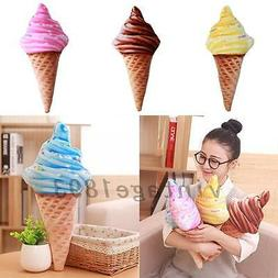 Ice Cream Shape Throw Pillows Child's Gift Decor Sofa Home O