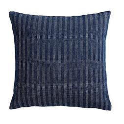 Indoor/Outdoor Decorative Pillow 18x18. Solid Color on One S