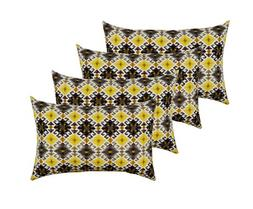 RSH Décor Set of 4 Indoor/Outdoor Lumbar Rectangular Throw