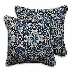 Pillow Perfect Outdoor/Indoor Woodblock Prism Throw Pillow ,