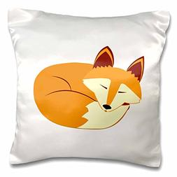 Janna Salak Designs Woodland Creatures - Cute Sleeping Red F