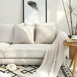 Kevin Throw Pillow Covers Textile Decor Lined Linen Cases Cu