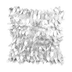 Kimloog 18 x 18 inch Fallen Leaves Feather Solid Decorative
