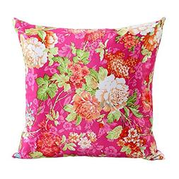 KMG Kimloog Floral Flower Sofa Bed Home Decor Throw Pillow C