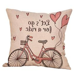 Kimloog Happy Valentine's Day ' Let's Go for a Ride ' Bike F