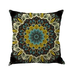 KMG Kimloog Hot Sale!Mandala Pillow Case Bohemia Design Indo
