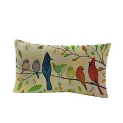 KMG Kimloog Rectangle Pillow Case, Beautiful Oil Painting Fl