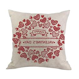 KMG Kimloog Sweet Lovers Design Happy Valentine's Day Pillow