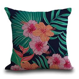 kimloog vintage floral tropical leaves