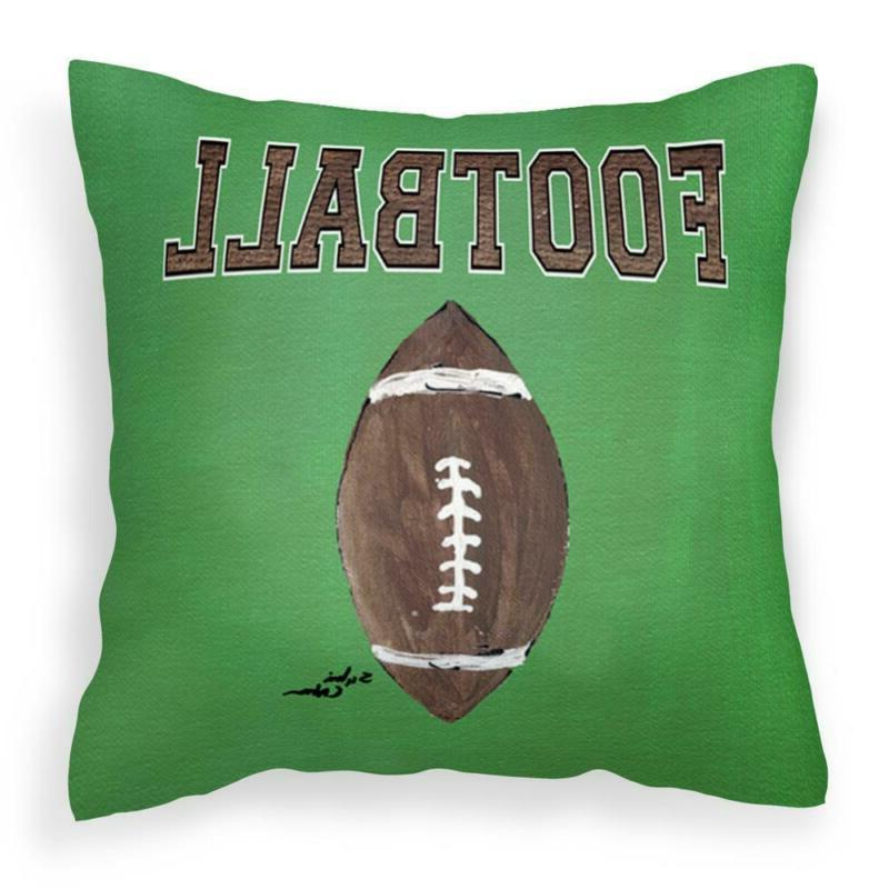 14 In. X 14 In. Multi Color Lumbar Outdoor Throw Pillow Foot