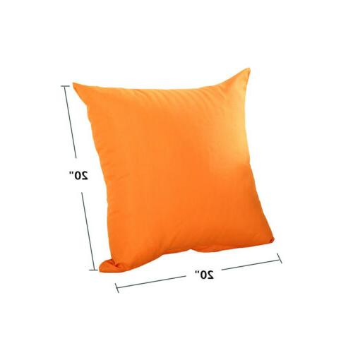 "16"" 18"" Pillow Case Throw Cushion Cover Decoration"