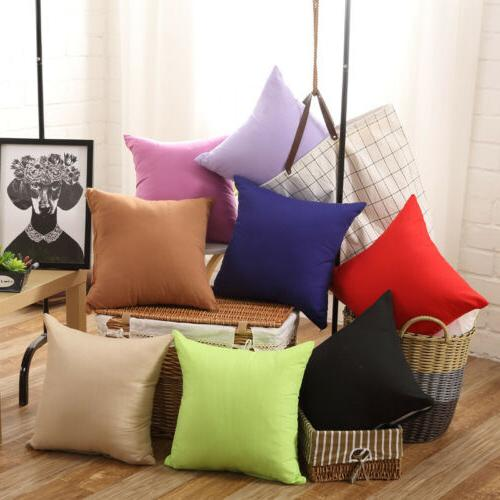 "16"" 18"" Case Sofa Car Throw Cushion Home Decoration USA"