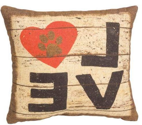 16 x 16 inches square vintage love