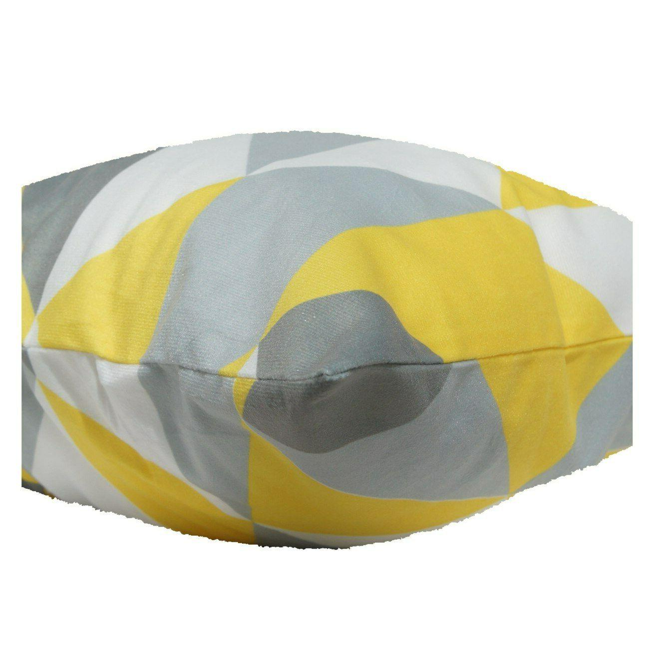 Yellow Soft PILLOW Couch Bed Premium 18x18""