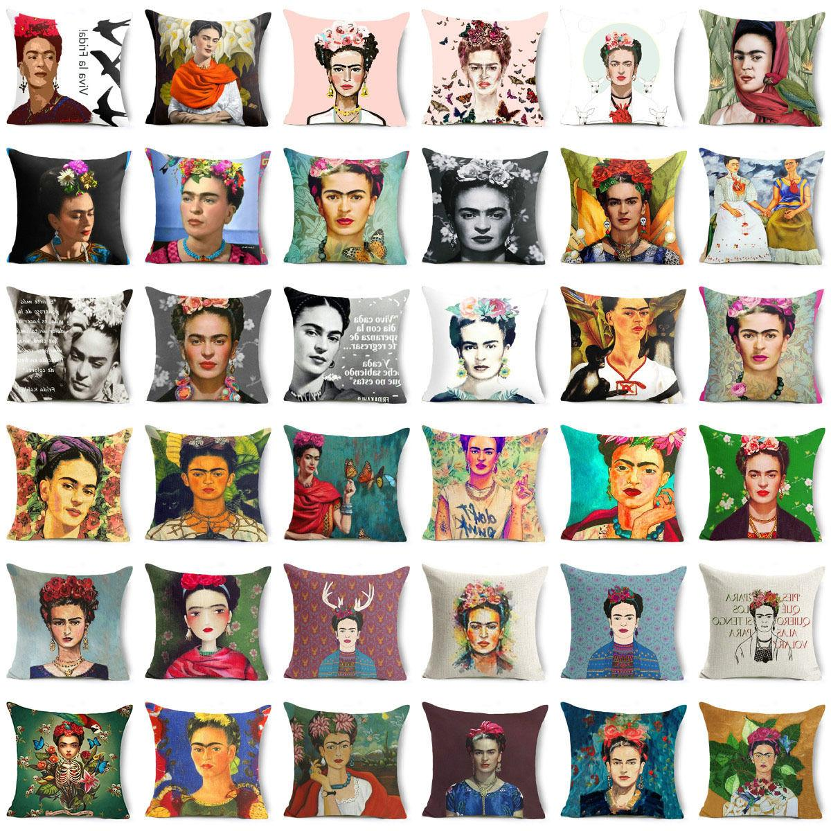18 almofada frida kahlo throw pillows case