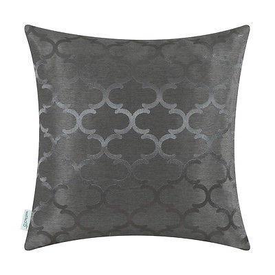 "18""X18"" CaliTime Chains Geo Throw Covers Pillows Shell"