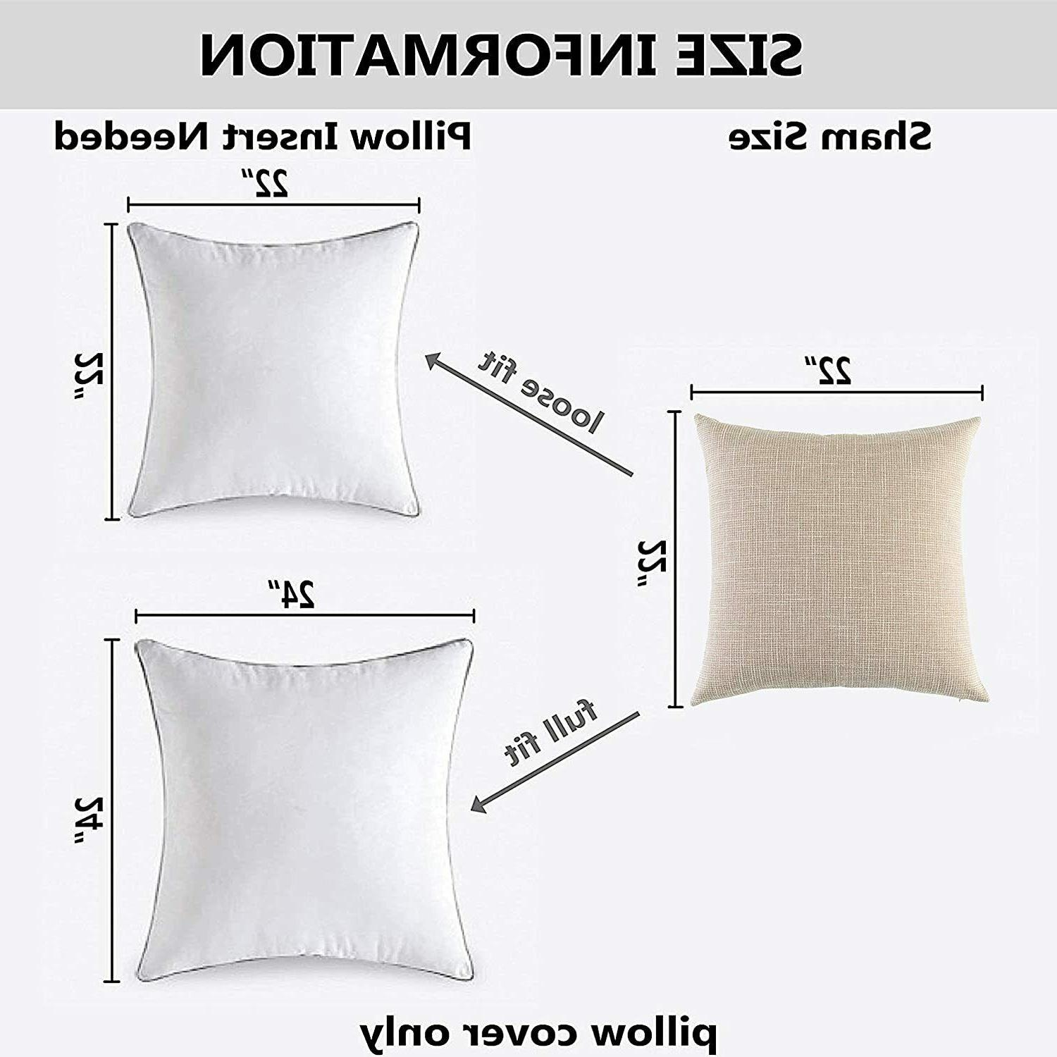 Kevin Lined Throw Pillow Cover